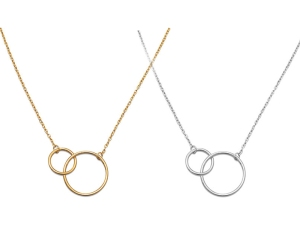 Blog post- Double circle necklace